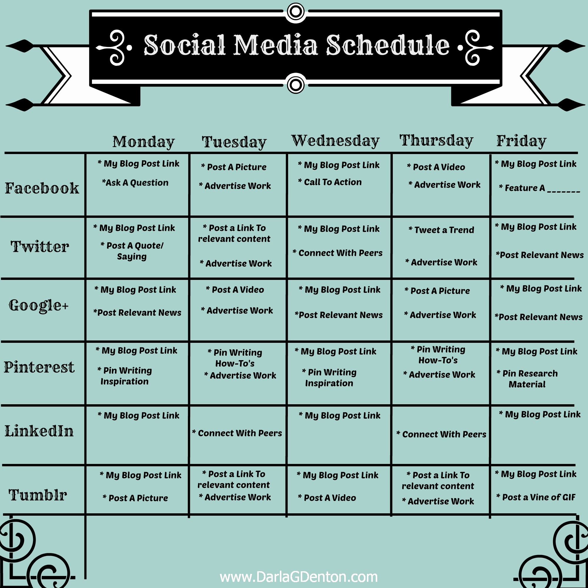 Social Media Post Schedule Template Luxury Job Search Washington County Pa social Media Dashboards