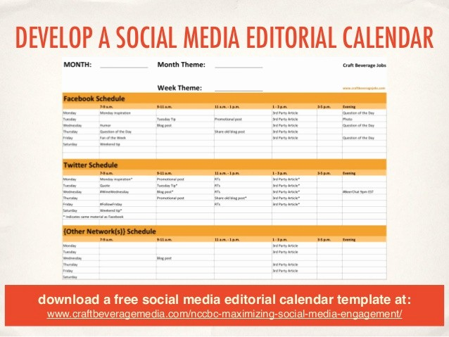Social Media Post Schedule Template Luxury social Media 201 Maximizing Your Engagement Line
