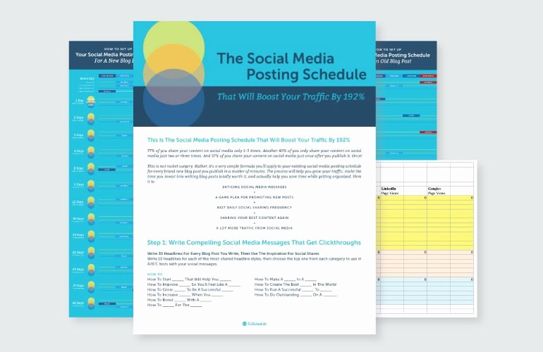 Social Media Post Scheduler Template Fresh 21 social Media Templates to Execute A 10x Growth Strategy