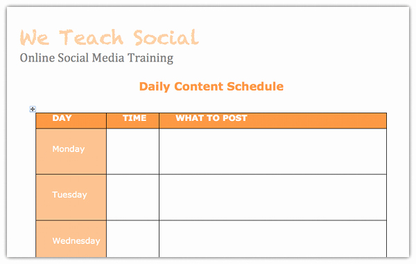 Social Media Post Scheduler Template New A Beginners Guide to Creating A social Media Content