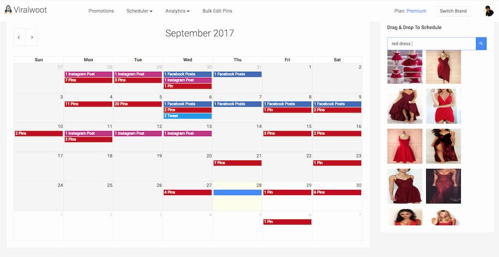 Social Media Post Scheduler Template New Schedule social Media Posts Using Viralwoot social Media