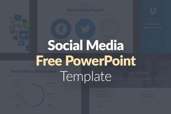 Social Media Report Template Download Beautiful 10 Free social Media Slides Templates for Microsoft Powerpoint