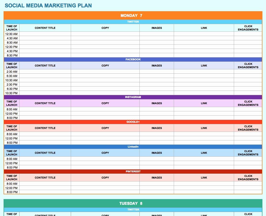 Social Media Report Template Download Fresh social Media Report Template Download