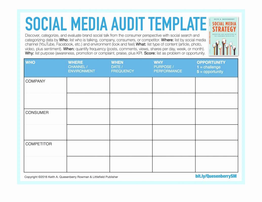 Social Media Report Template Download Fresh social Media Reporting Templates