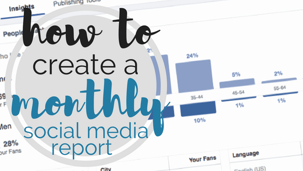 Social Media Report Template Download Fresh [template] How to Create A Monthly social Media Report