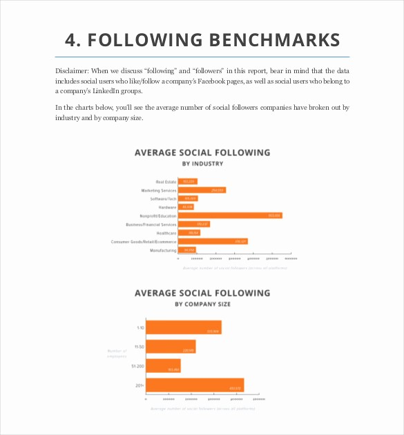 Social Media Report Template Download Lovely social Media Report Template – 11 Free Word Pdf