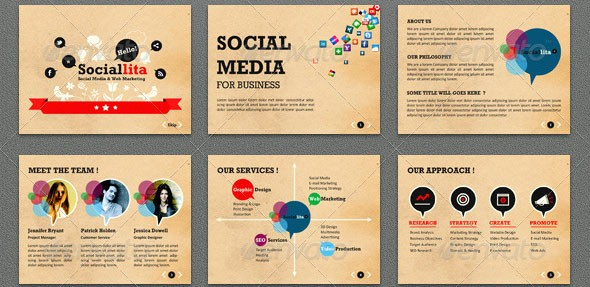 Social Media Templates for Students Best Of 24 Beautiful Vintage Powerpoint Templates – Desiznworld