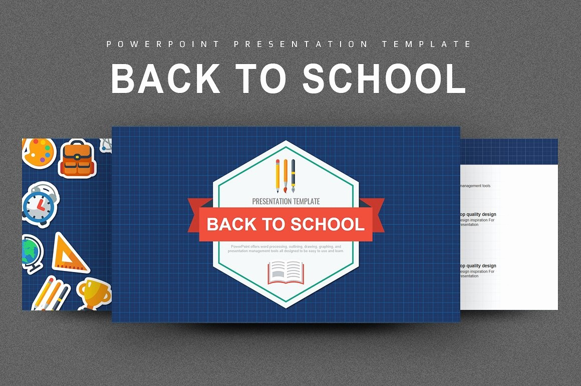 Social Media Templates for Students Luxury Back to School Powerpoint Powerpoint Templates