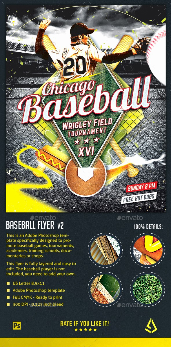 Softball tournament Flyer Template Free Awesome Baseball Nights Flyer Baseball tournament Poster