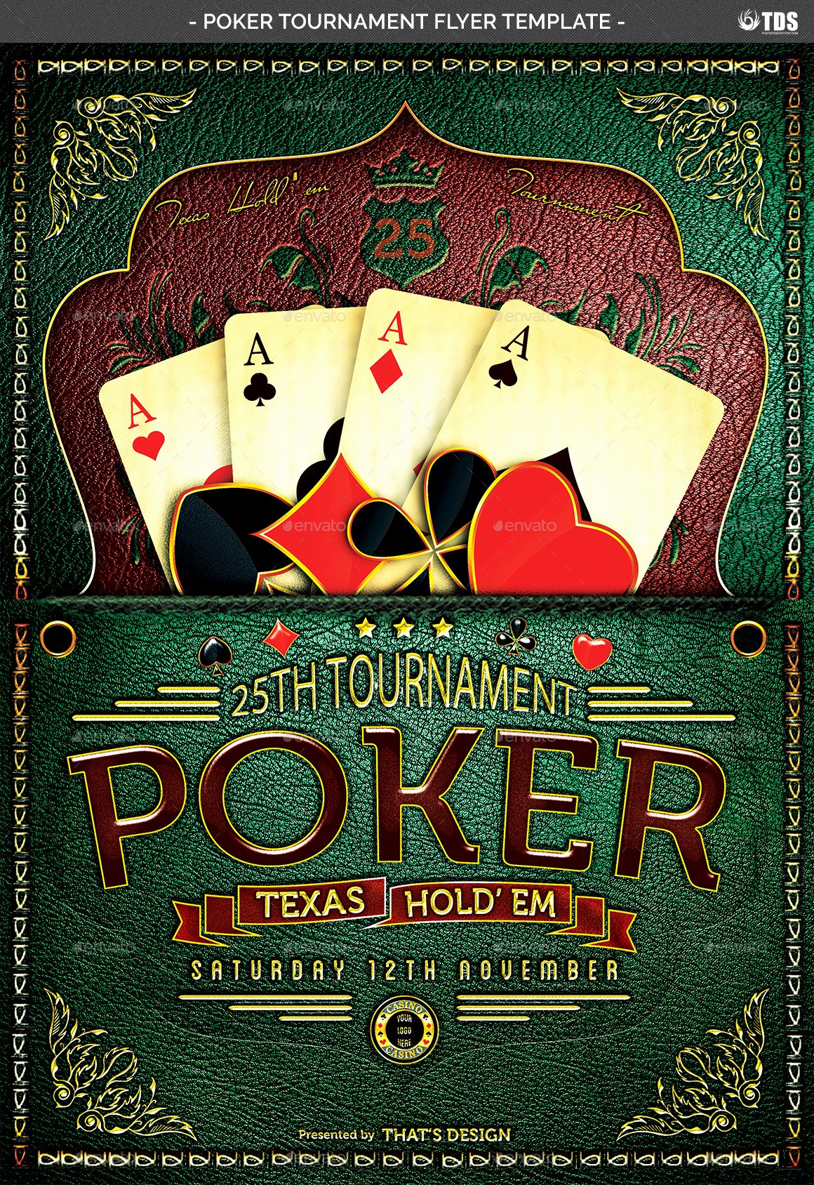 Softball tournament Flyer Template Free Best Of Poker tournament Flyer Template by Lou606