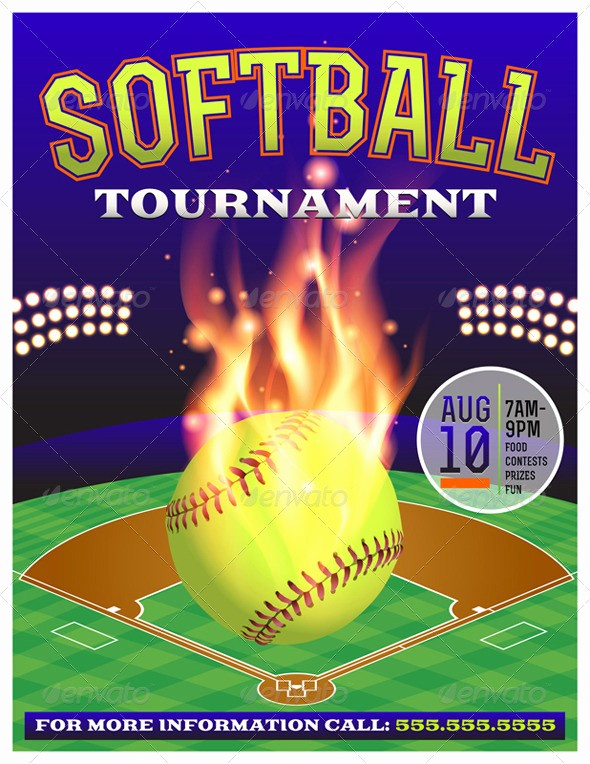 Softball tournament Flyer Template Free Elegant softball tournament Flyer Template Yourweek 5fe344eca25e
