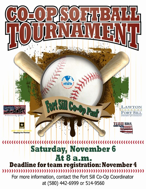 Softball tournament Flyer Template Free Fresh softball tournament Flyer