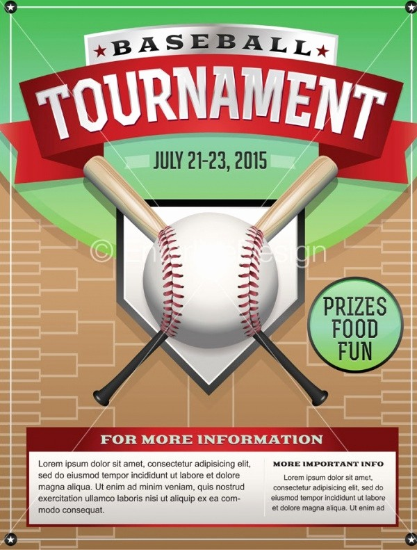 Softball tournament Flyer Template Free Luxury 25 Baseball Flyers Psd Vector Eps Jpg Download