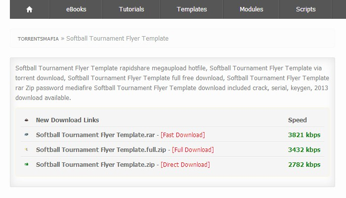 Softball tournament Flyer Template Free New 3 softball tournament Flyer Templates