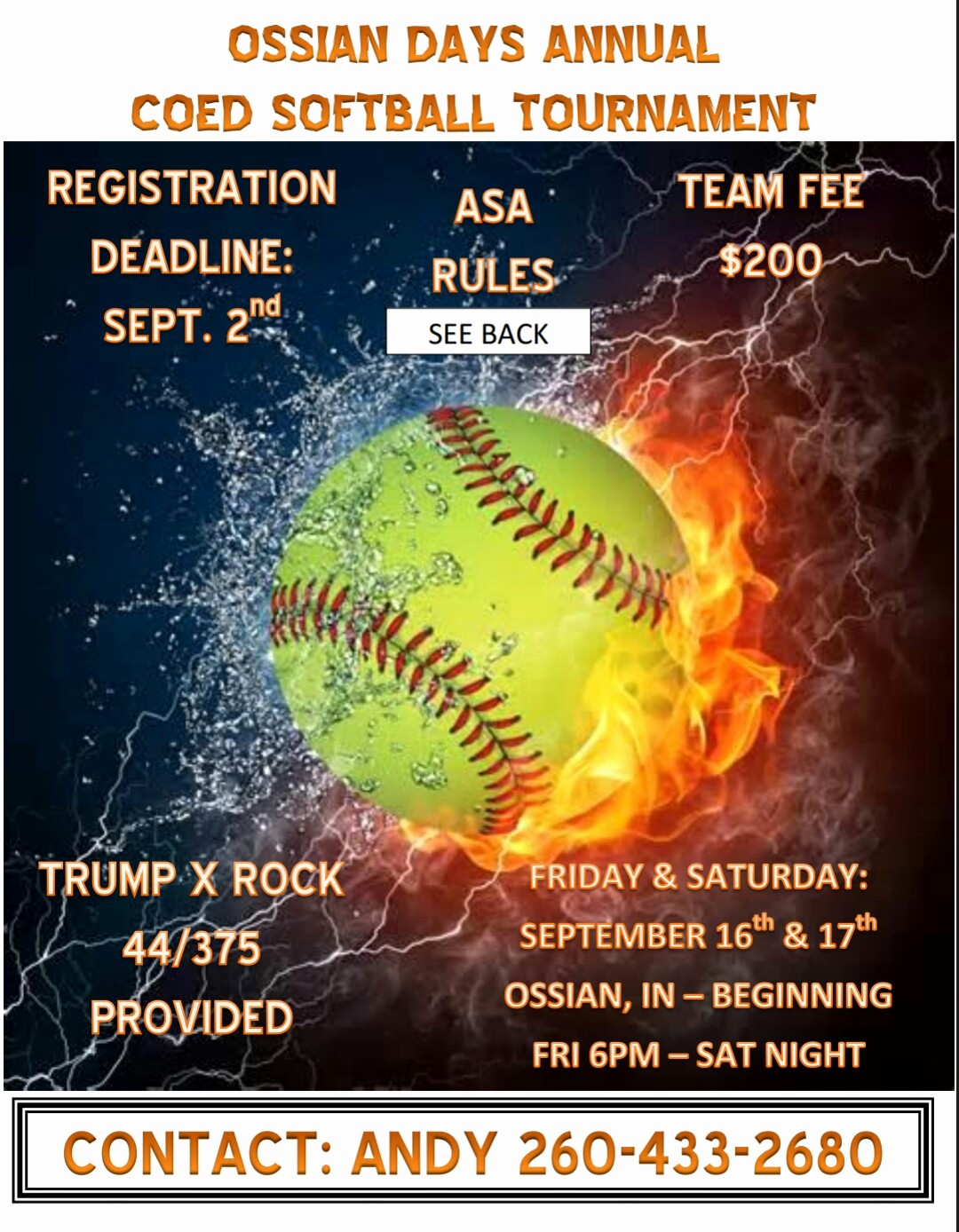 Softball tournament Flyer Template Free New softball tournament Flyer