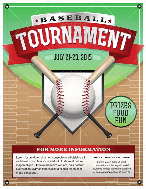 Softball tournament Flyer Template Free Unique Football tournament Poster Template Dondrup