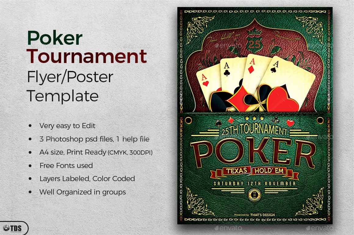 Softball tournament Flyer Template Free Unique Poker tournament Flyer Template by Lou606