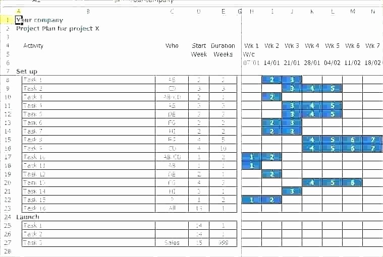 Software Project Plan Template Excel Lovely Project Plan Template for Business Projects Best software