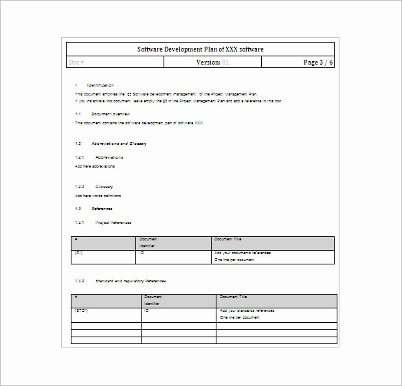 Software Project Plan Template Excel New 23 Project Plan Template Doc Excel Pdf