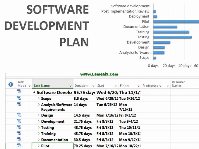 Software Project Plan Template Excel Unique Training Management Plan Template Template Design