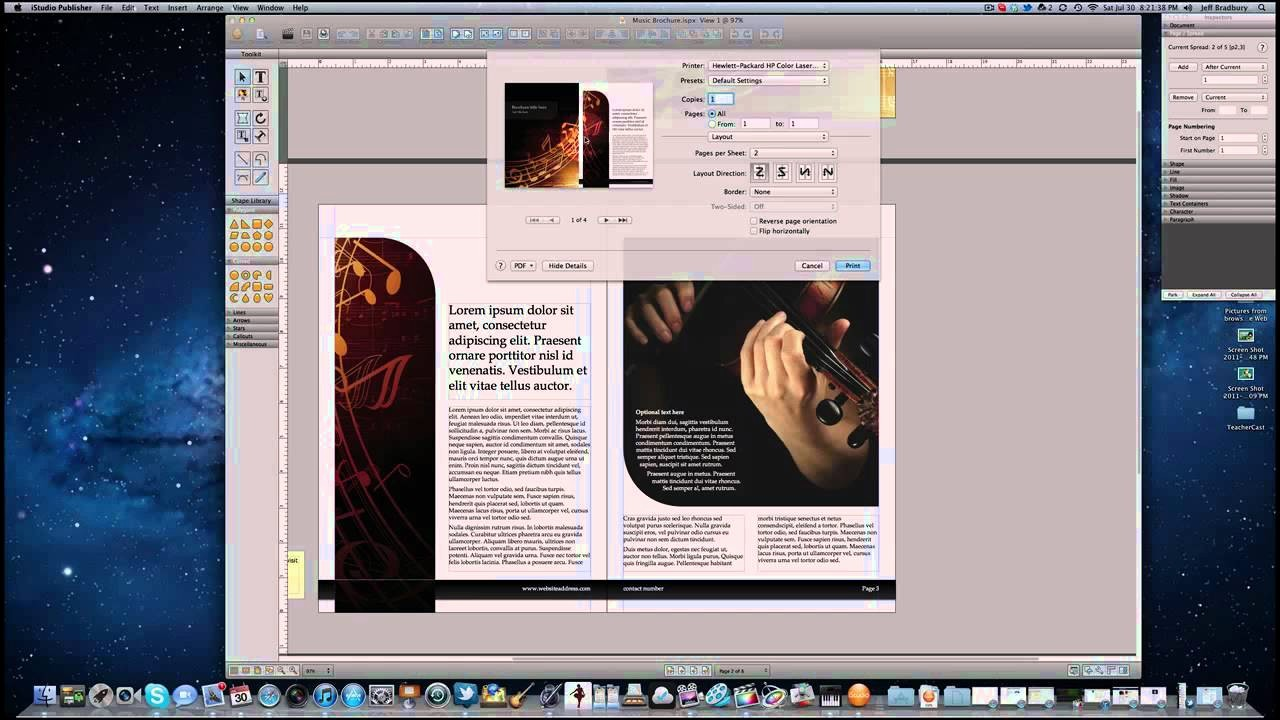 Souvenir Booklet Template Microsoft Word Beautiful How to Create A Booklet On A Mac
