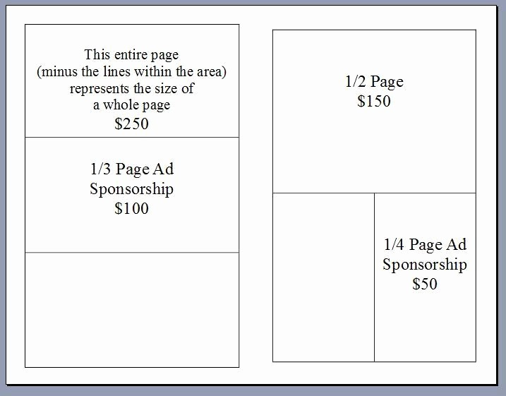 Souvenir Booklet Template Microsoft Word Best Of Sponsor Book Info Emily S Hopeful Holiday