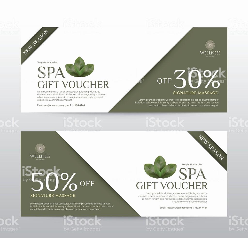 Spa Gift Certificate Template Free Elegant Spa Gift Certificates Templates Networkuk