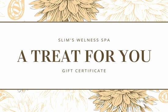 Spa Gift Certificate Template Free Luxury Customize 131 Spa Gift Certificate Templates Online Canva