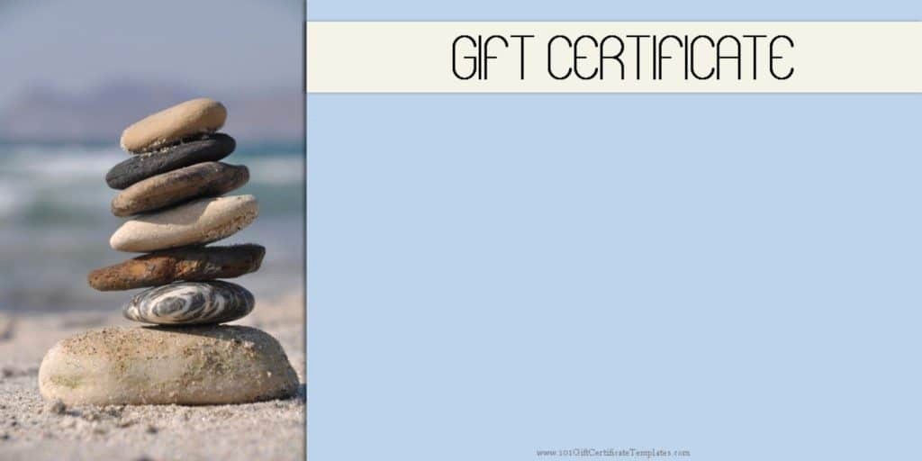 Spa Gift Certificate Template Free Luxury Spa Gift Certificates 101 Gift Certificate Templates