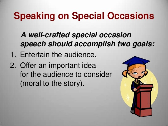 Special Occasion Speech Outline Template Lovely How to Write A Special Occasion Speech Proofreadingx Web