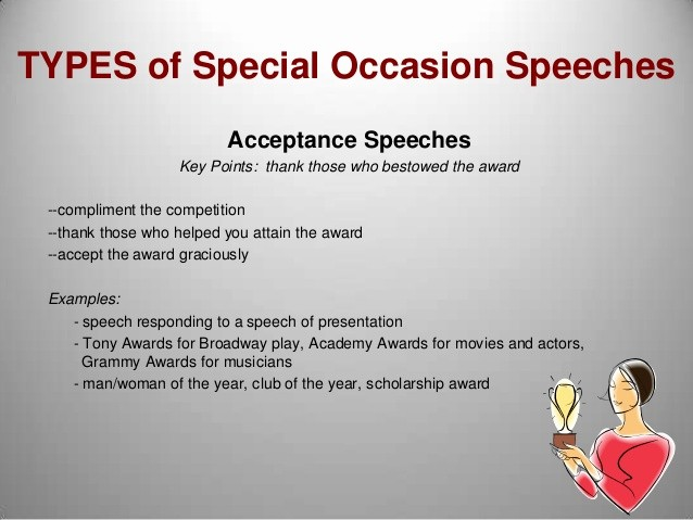 Special Occasion Speech Outline Template Luxury M8 Special Occasion Speeches