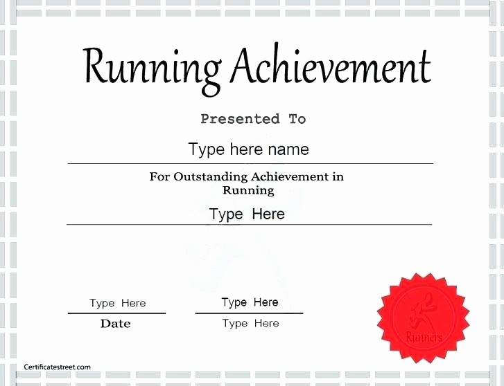 Sports Certificate Templates for Word Awesome Certificate Of Achievement Word Template – Puebladigital