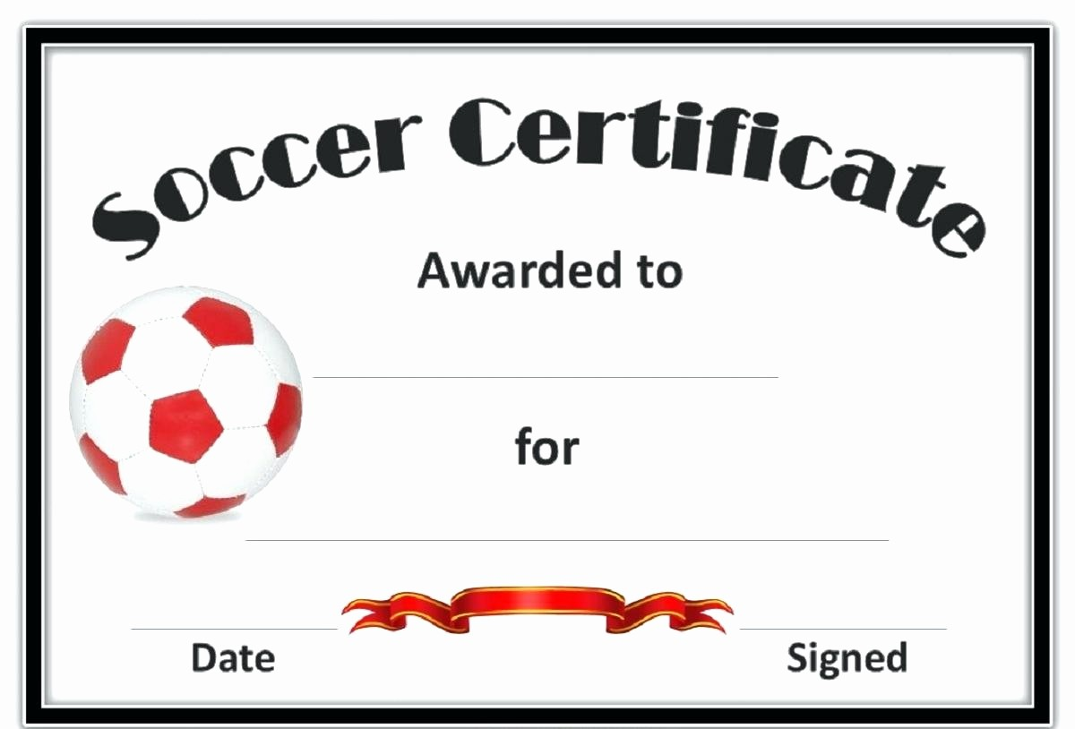 Sports Certificate Templates for Word Best Of Template Sport Certificate Template
