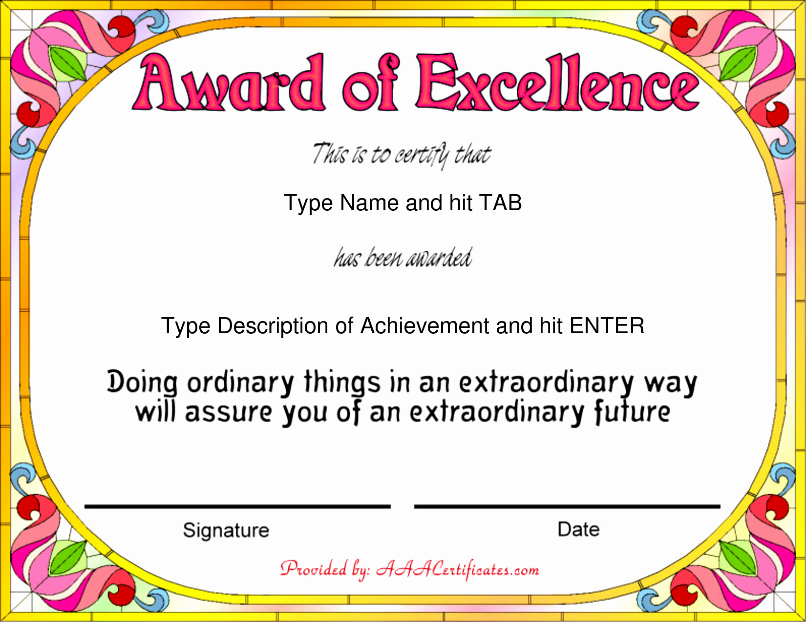 Sports Certificate Templates for Word Fresh Sports Award Certificates Bamboodownunder