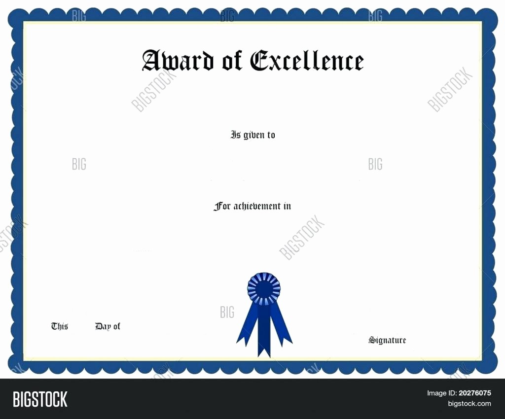 Sports Certificate Templates for Word Fresh Template Sports Certificate Template