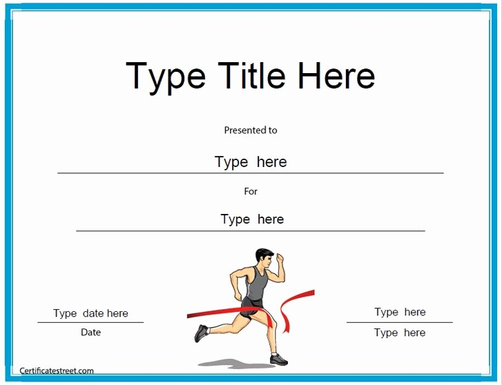 Sports Certificates Templates Free Download Luxury Sports Certificates Templates Free Download Printable