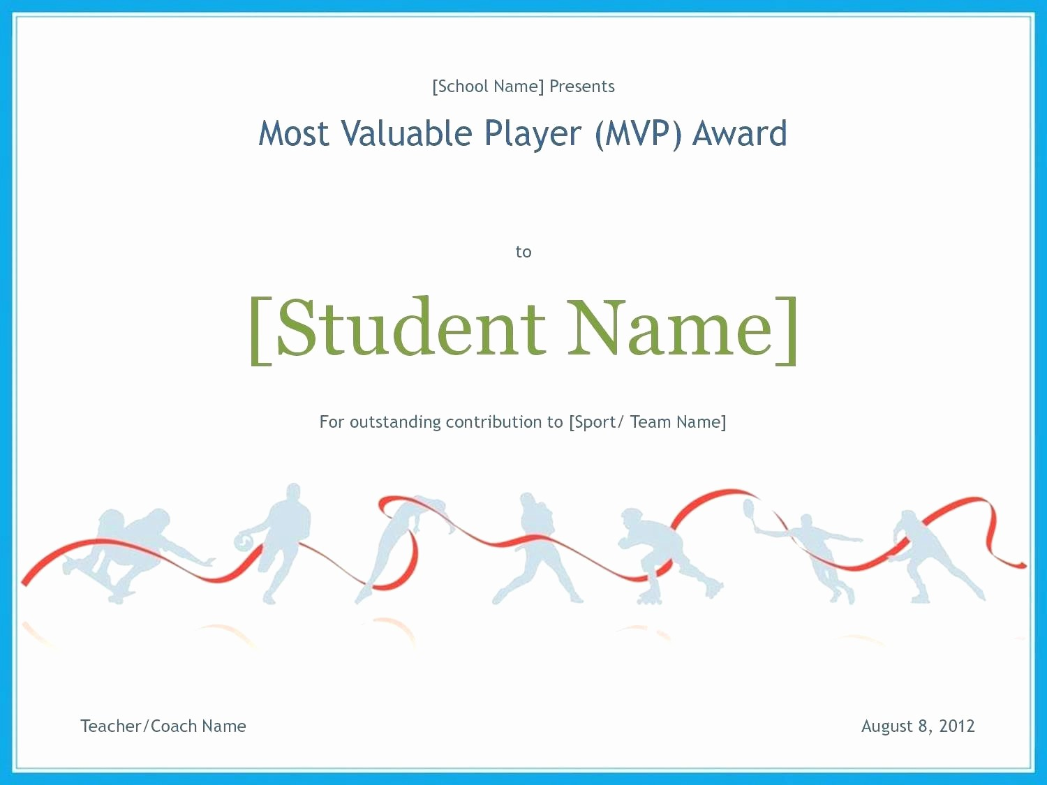 Sports Certificates Templates Free Download Unique Template Sports Certificate Template