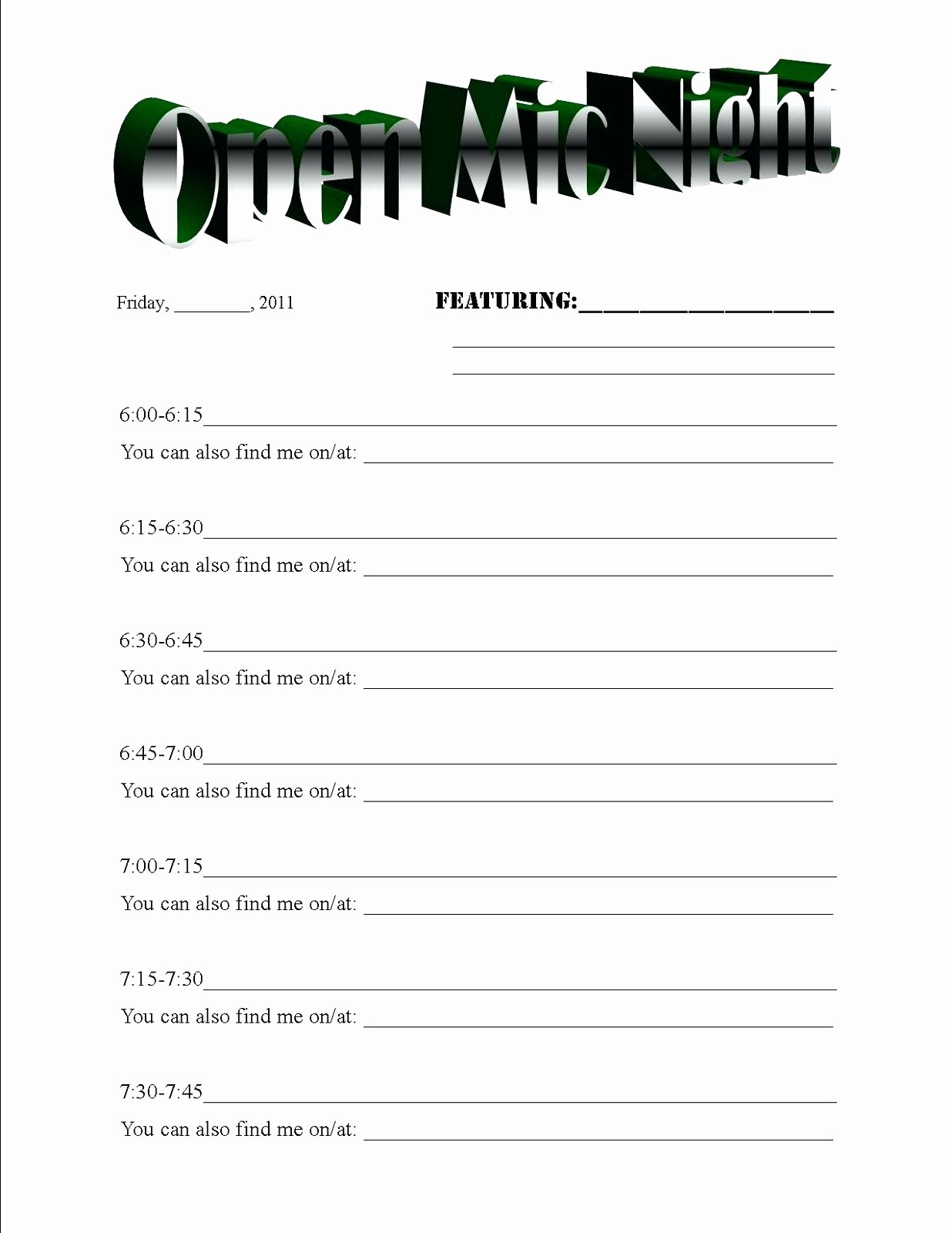 Sports Sign Up Sheet Template Beautiful Halloween Potluck Sign Up Sheet Template