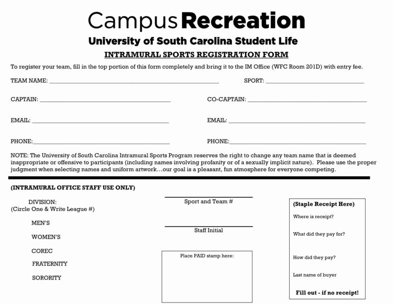 Sports Sign Up Sheet Template Unique 6 Sport Sign Up Sheet Templates Pdf
