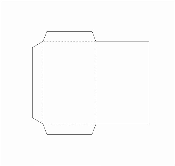 Square Business Card Template Word Elegant 8 Small Envelope Templates to Download for Free