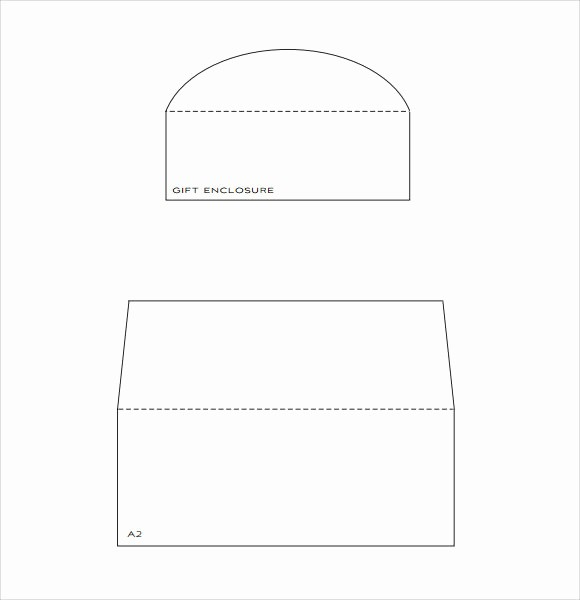 Square Business Card Template Word Elegant 9 Envelope Liner Templates Download for Free