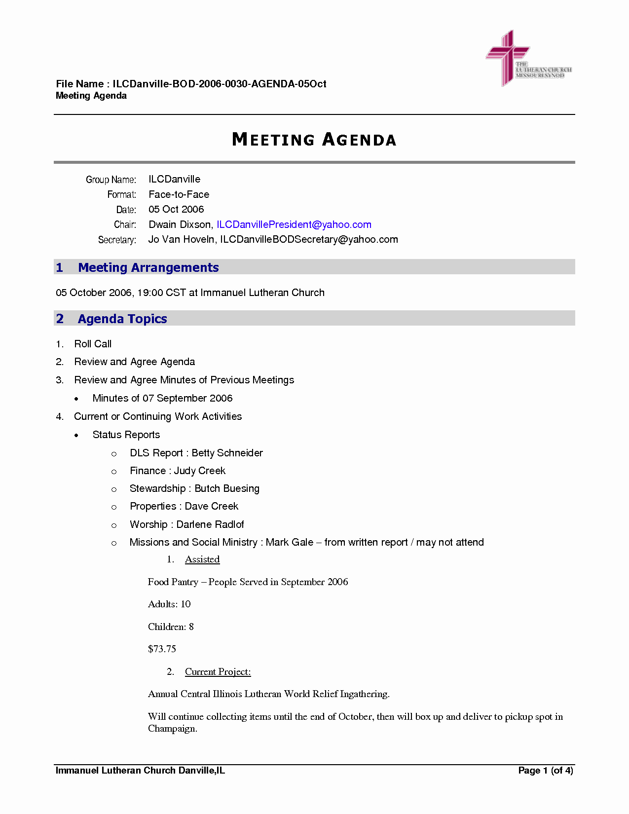 Staff Meeting Minutes Template Doc Inspirational Brilliant Ideas Agenda Word Template Agreement Sample