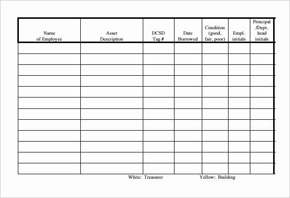 Staff Sign In Sheet Template Lovely 14 Sample Equipment Sign Out Sheets