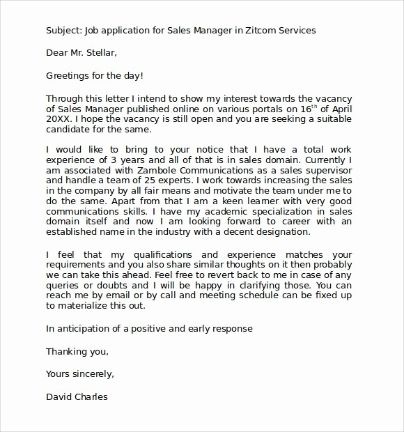 Standard Business Letter format Template Luxury 9 Standard Business Letter format Templates to Download