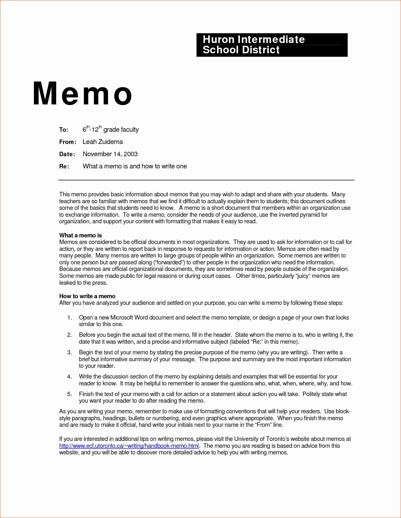Standard Business Letter format Template Luxury Sample Standard Memo Template for School Fice Vatansun