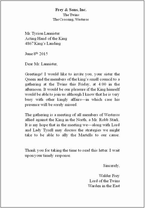 Standard Business Letter format Template Unique Free Printable Standard Business Letter format Template