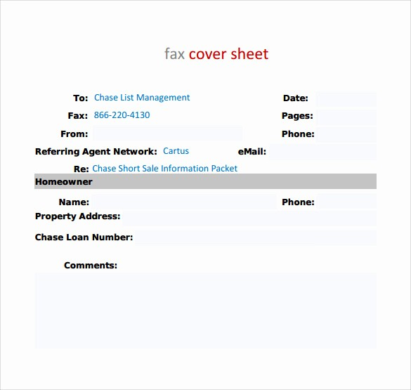 Standard Fax Cover Sheet Pdf Fresh Standard Fax Cover Sheet – 11 Free Samples Examples