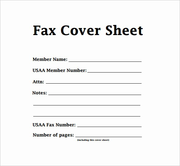 Standard Fax Cover Sheet Pdf Unique 7 Sample Modern Fax Cover Sheets