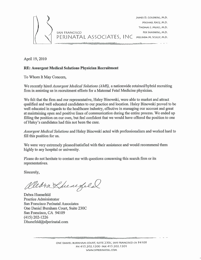 Standard Letter Of Recommendation format New Template Employee Re Mendation Letter Template