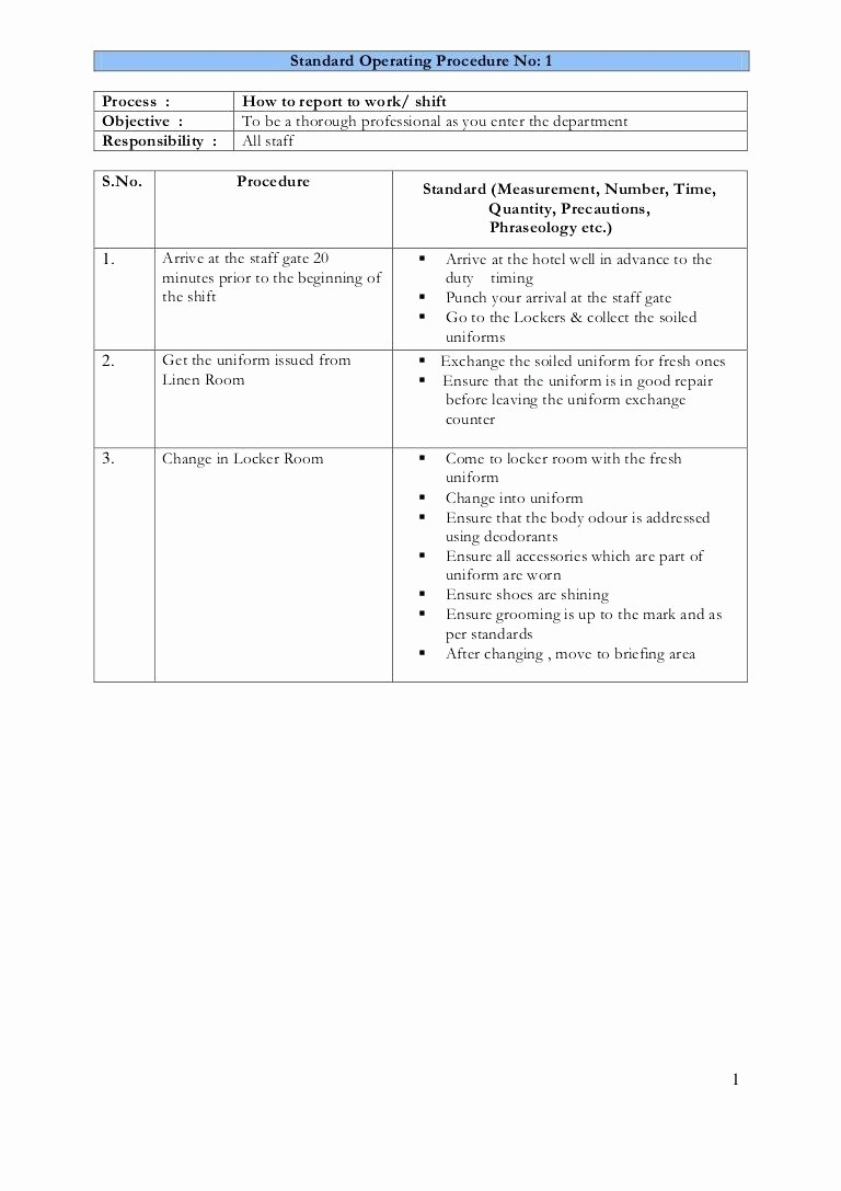 Standard Work Template for Office Unique Leader Standard Work Template Checklist